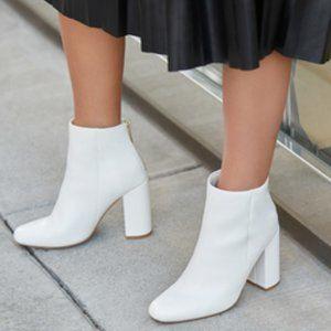 NEW Jessee Block Heel Booties Shoes Womens 8